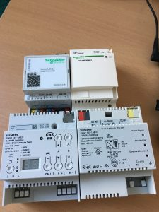 dispositivos domotica estandar knx